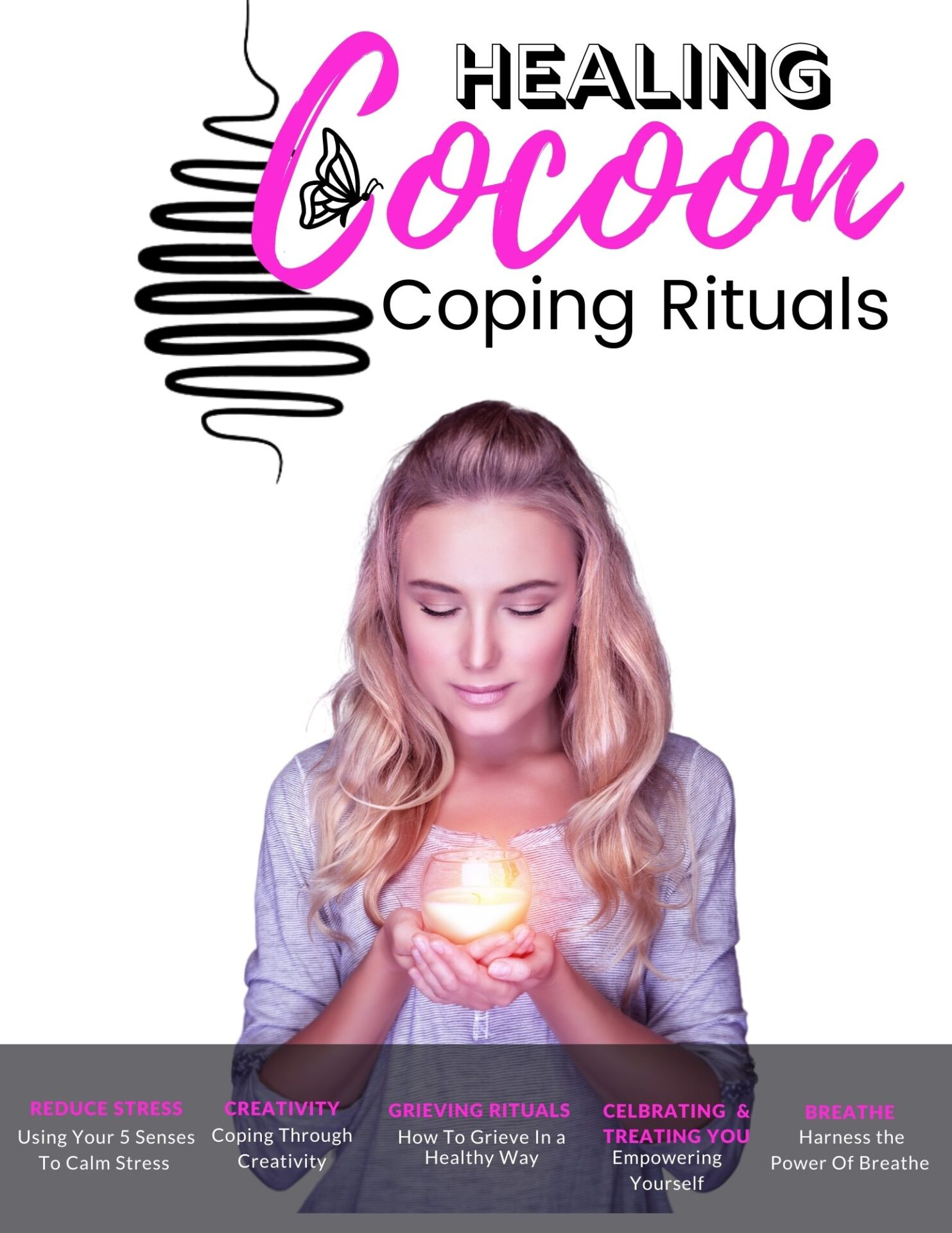 healing cocoon a place to heal from the trauma of abuse, rape and loss to feel happy again